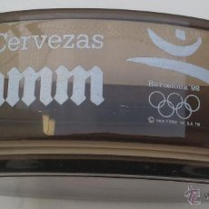 Ceniceros: CENICERO PUBLICIDAD - CERVEZAS DAMM - MATERIAL VIDRIO - 14,5 CMS. -. Lote 39487012