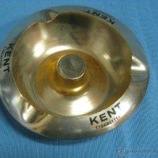 Ceniceros: CENICERO METAL CIGARROS KENT. Lote 40838278