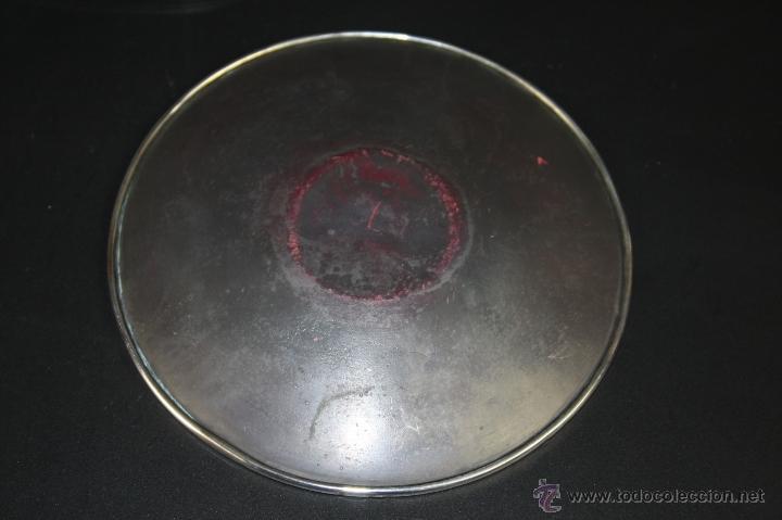 Ceniceros: CENICERO EN PLATA DE LEY BELLAMENTE ESMALTADAS, AÑOS 60 S. XX - Foto 4 - 41093804