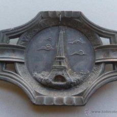 Ceniceros: CENICERO DE ESTAÑO PARIS TORRE EIFFEL - NO NUEVO- AÑOS 60 APROMTE.. Lote 41761444