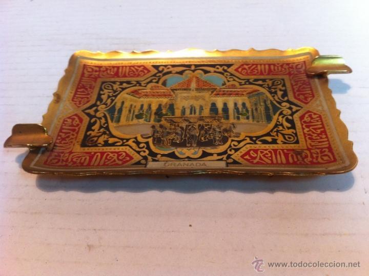 Ceniceros: CENICERO CHAPA AÑOS 70 GRANADA - Foto 2 - 42700373