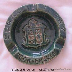 Ceniceros: CENICERO ANTIGUO COÑAC CENTENARIO TERRY BODEGAS. Lote 43684178