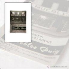 Ceniceros: CENICERO PUBLICITARIO - ALUMINIO SERIGRAFIADO - MUEBLES PUIG - SABADELL. Lote 44804202