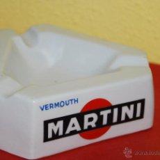 Ceniceros: CENICERO CON PUBLICIDAD DE MARTINI - JAGER - VERMOUTH. Lote 58183682