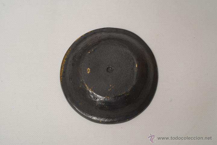 Ceniceros: Cenicero metálico de Orihuela (alicante). - Foto 2 - 45731633
