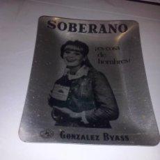 Ceniceros: ANTIGUO CENICERO SOBERANO METAL. Lote 46878891