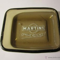 Ceniceros: CENICERO VINTAGE MARTINI ON THE ROCKS CRISTAL. Lote 47311710