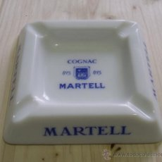 Ceniceros: CENICERO PORCELANA COGNAC MARTELL - COÑAC. Lote 47595698