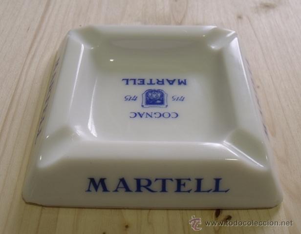 Ceniceros: Cenicero Porcelana Cognac Martell - Coñac - Foto 2 - 47595698