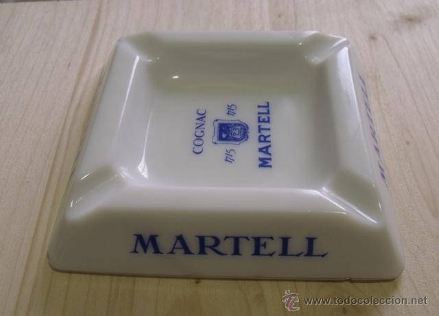 Ceniceros: Cenicero Porcelana Cognac Martell - Coñac - Foto 3 - 47595698