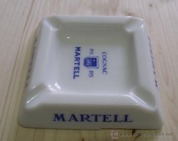 Ceniceros: Cenicero Porcelana Cognac Martell - Coñac - Foto 4 - 47595698