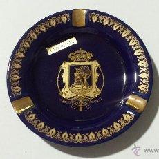 Ceniceros: CENICERO CON ESCUDO DE LA CIUDAD DE VIGO (ORO DE LEY). Lote 48415143