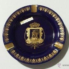Ceniceros: CENICERO CON ESCUDO DE LA CIUDAD DE VIGO (ORO DE LEY). Lote 48415188