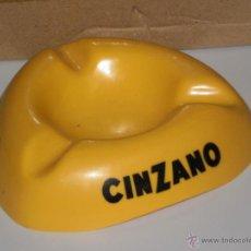 Ceniceros: CENICERO EN PLASTICO DURO , CINZANO . 12 X 12 CMS .. Lote 48692519