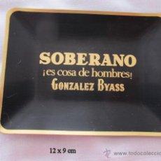 Ceniceros: BANDEJITA ANTIGUO BRANDY SOBERANO BODEGAS GONZALEZ BYASS. Lote 48925637