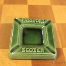 Ceniceros: PASSPORT SCOTCH CENICERO -REF3500-. Lote 49166067
