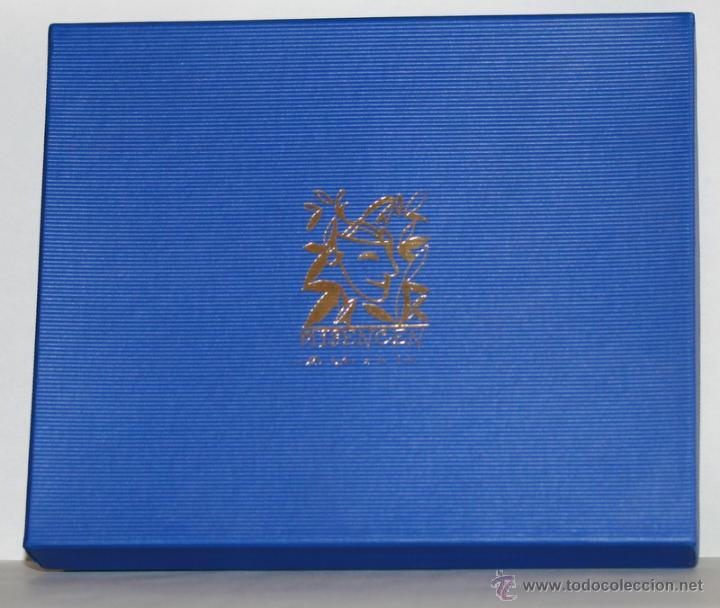 Ceniceros: Caja de colección Misencen con dos ceniceros de porcelana con motivos de golf - Foto 2 - 50962734