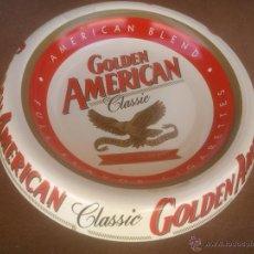Ceniceros: CENICERO GOLDEN AMERICAN. Lote 50988185