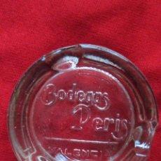 Ceniceros: BODEGAS PERIS. VALENCIA. CENICERO DE CRISTAL. . Lote 51020015