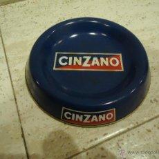 Ceniceros: CENICERO ESMALTE AZUL METALICO CINZANO. Lote 51743858