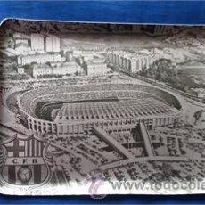 Ceniceros: CENICERO DEL C.F.B. CLUB DE FUTBOL BARCELONA (BARÇA) / METAL / 1960-1974 / ÉPOCA. Lote 52909482