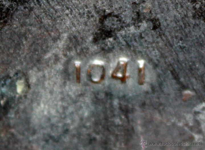 Ceniceros: ANTIGUO CENICERO EN COBRE PATINADO DE LOS AÑOS 40 - Foto 4 - 54097842