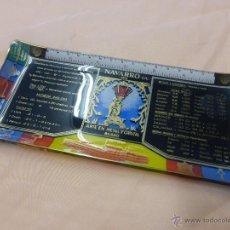 Ceniceros: ANTIGUO CENICERO-TARJETERO CRISTAL PUBLICIDAD NAVARRO S.L. ARTE EN METAL Y CRISTAL - BILBAO-AÑOS 50. Lote 54851608