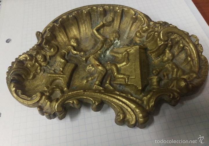 CENICERO DE BRONCE MACIZO (Coleccionismo - Objetos para Fumar - Ceniceros)