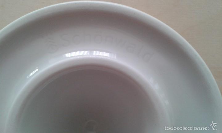 Ceniceros: Cenicero vintage -- SCHÖNWALD de porcelana y acero inox. -- Perfecto estado -- - Foto 2 - 57123283