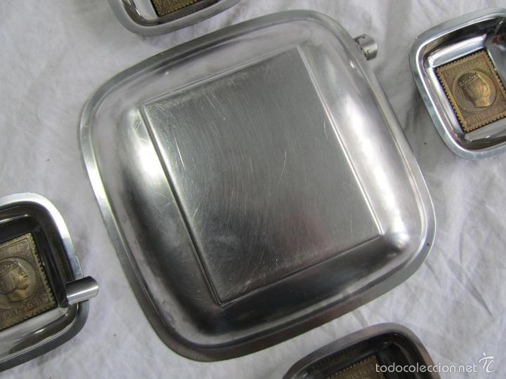 Ceniceros: 5 ceniceros Sello Correos 1853 - Foto 5 - 57494056