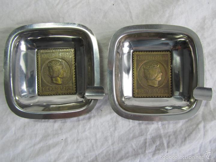 Ceniceros: 5 ceniceros Sello Correos 1853 - Foto 8 - 57494056