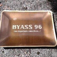 Ceniceros: CENICERO DE ALUMINIO DE BRANDY BYASS 96. Lote 58000410
