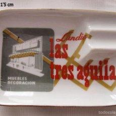 Ceniceros: CENICERO ANTIGUO MUEBLES LAS TRES AGUILAS. Lote 59444600