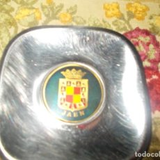 Ceniceros: CENICERO ESCUDO DE JAÉN. Lote 61834056