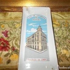Ceniceros: CENICERO CAJA DE AHORROS DE RONDA EN PORCELANA. Lote 61834452