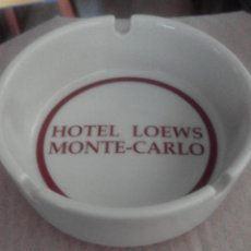 Portacenere: CENICERO HOTEL LOEWS MONTE-CARLO (MONACO). . Lote 62105140