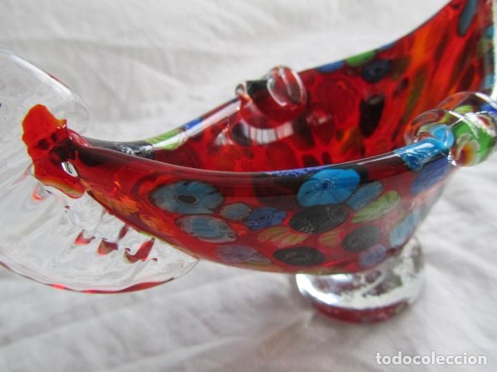 Ceniceros: Cenicero góndola murano multicolor Millefioli - Foto 10 - 68671037