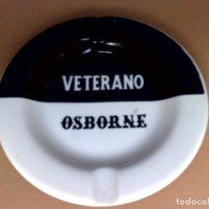 Ceniceros: CENICERO CERAMICA PUBLICITARIO-OSBORNE-VETERANO (13,5CMS.,DIAMETRO). Lote 69988593