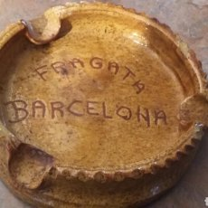 Ceniceros: CENICERO FRAGATA BARCELONA. Lote 69989457
