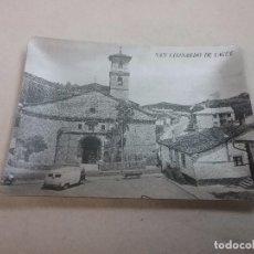 Ceniceros: ANTIGUO CENICERO METÁLICO CON PAISAJE DE SAN LEONARDO DE YAGUE ( SORIA ) . Lote 72421511