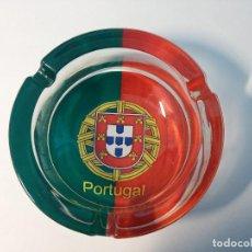Ceniceros: CENICERO CRISTAL PORTUGAL 10 CM DIAMETRO. Lote 79222693