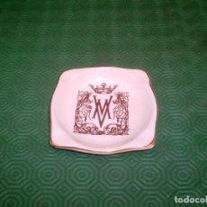 Ceniceros: CENICERO PUBLICIDAD HOTEL WELLINGTON EN CERAMICA DE LA CARTUJA PICKMAN AÑOS 50.. Lote 79382573