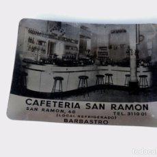 Ceniceros: ANTIGUO CENICERO METALICO / CAFETERIA SAN RAMON / BARBASTRO / HUESCA. Lote 80497717