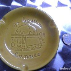 Ceniceros: ANTIGUO CENICERO LA BOUTTAU-CANNES. Lote 81710912