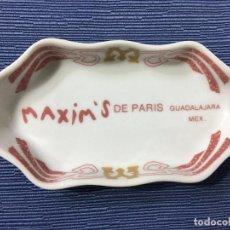 Ceniceros: CENICERO INDIVIDUAL RESTAURANTE **MAXIM'S DE PARIS** GUADALAJARA MEXICO. Lote 83792156