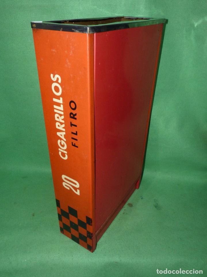 Ceniceros: Raro cenicero metal de estanco enorme cajetilla cigarrillos JEAN papelera publicidad paquete tabaco - Foto 5 - 87087616