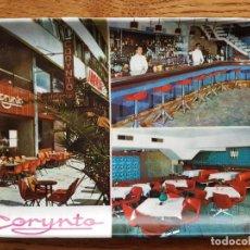 Ceniceros: CENICERO ANTIGUO PLASTICO CAFETERIA CORYNTO - AVENIDA ANAGA - SANTA CRUZ DE TENERIFE. Lote 88137456