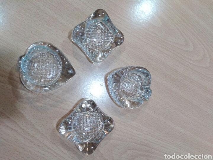 Ceniceros: Juego cenicero ceniceros cristal de murano - Foto 9 - 88923894