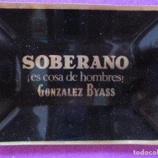 Ceniceros: CENICERO PUBLICIDAD SOBERANO, GONZALEZ BYASS, VER FOTOS ADICIONALES, B1. Lote 91278750