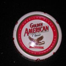 Ceniceros: CENICERO PUBLICIDAD GOLDEN AMERICAN. Lote 92213785